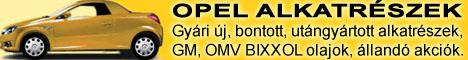 Opel alkatrészek, opelbolt, opelalkatrész. Gyári új, bontott és utángyártott.